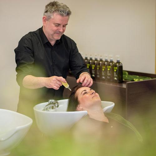 kapper steven oliebehandeling voor het haar